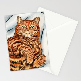 Ginger Cat Stationery Cards