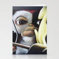 gizmo Stationery Cards featuring Gizmo Rambo by John McGlynn
