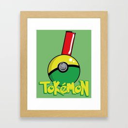 Tokemon GO Framed Art Print