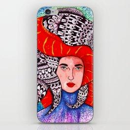 Eel Lady  iPhone Skin