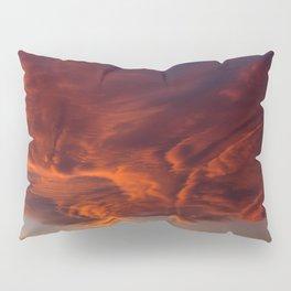 Desert Sky on Fire Pillow Sham