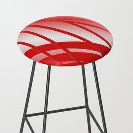 Thunderbird Orange Strings Bar Stool