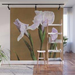 Kazumasa Ogawa - Iris Kæmpferi Wall Mural