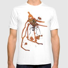 Insect in Ink 01 SMALL White Mens Fitted Tee