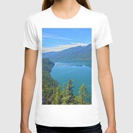 Heaven's Canvas  - Slocan Lake, B.C. Canada T-shirt