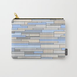 Mosaic Pattern Horizontal Carry-All Pouch