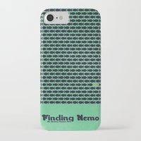 nemo iPhone & iPod Cases featuring Finding Nemo by Matt Bacon