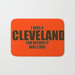 Cleveland Football Fan Bath Mat