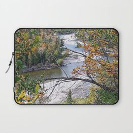 Winding River in Autumn Laptop Sleeve