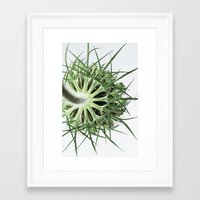 fractal Framed Art Prints featuring Fractal by A Wandering Soul