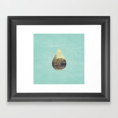 Nature Drop Framed Art Print