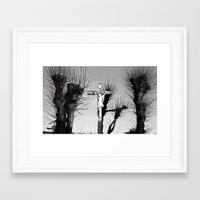 christ Framed Art Prints featuring Christ  by Classy Boutique