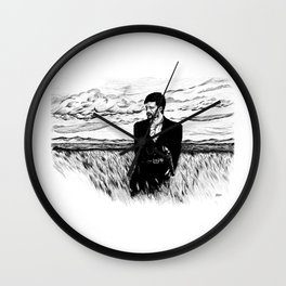 Jesse James Wall Clock