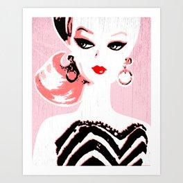 Classic Barbie Art Print