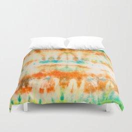 rainbow sun Duvet Cover