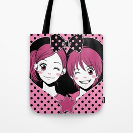 Lovely Complex Tote Bag