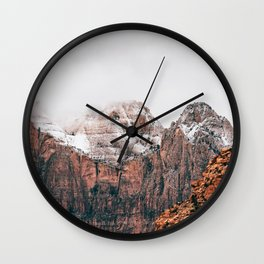 Misty Adventure #society6 Wall Clock