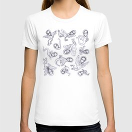 cute quirky witches T-shirt