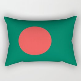 bangladesh country flag Rectangular Pillow