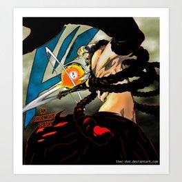 Kokujou Tengen Myou - Dangai Joue Art Print