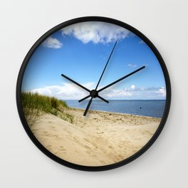 Summer dreams, in the dunes Wall Clock