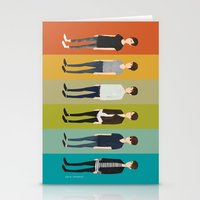 tegan and sara Stationery Cards featuring Tegan and Sara: Sara collection by Cas.