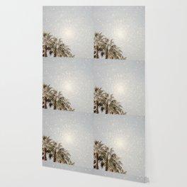 bleached palms Wallpaper