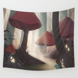Into Wonderland Wall Tapestry