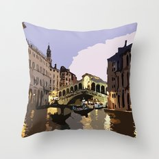 Italy Venice Throw Pillow