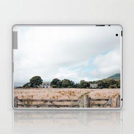 Wheat field in Scotland Laptop & iPad Skin