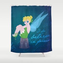 Tinker Bell Shower Curtains