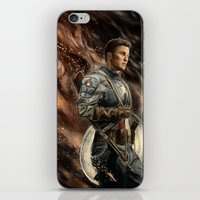 captain iPhone & iPod Skins featuring Captain by Linarts