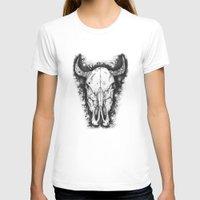 bull T-shirts featuring BULL by Morgan Ralston