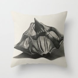 Water Chestnut Seed Throw Pillow