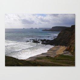 Alongside the Atlantic ocean Canvas Print