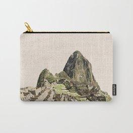 ArtWork Painting Machu Picchu Peru Paint Art Print Carry-All Pouch