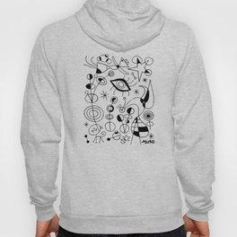 Joan Miro Peces De Colores (Colorful Fish) T Shirt, Artwork Reproduction Hoody
