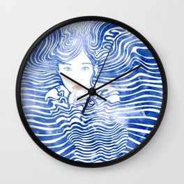 Water Nymph XLIII Wall Clock