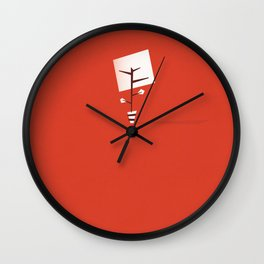 A Young Tree Wall Clock