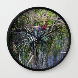 Standing in the Slough Wall Clock