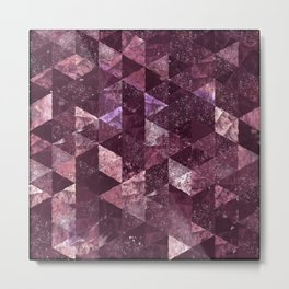 Abstract Geometric Background #24 Metal Print