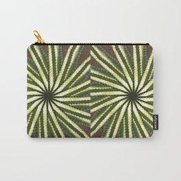 Cactus Garden Kaleidoscope 10 Carry-All Pouch