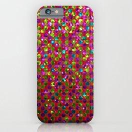 Polka Dot Sparkley Strass G266 iPhone Case