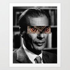 Capitalism / Owl  Art Print