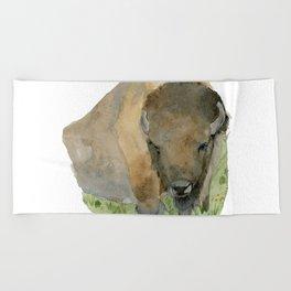 Buffalo Beach Towel