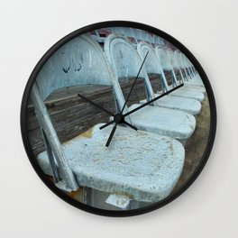 Oxodized Seats Wall Clock