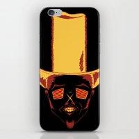 cowboy iPhone & iPod Skins featuring Cowboy by Vladislav Chulkov
