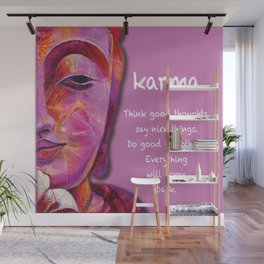 Karma Wall Mural
