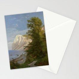 View of Mons Klint, Carl Frederik Aagaard Stationery Cards