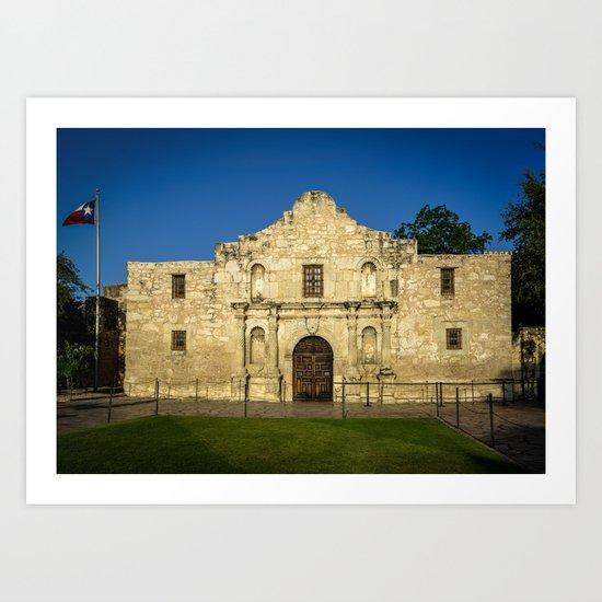 Empty Alamo Art Print